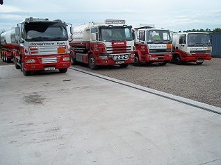 Our lorries