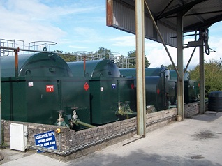 Our oil tanks which contain our finest oil
